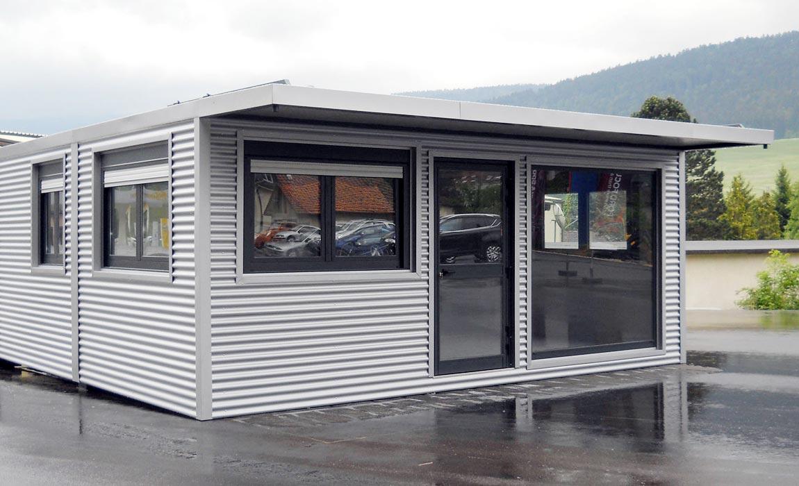 Produzione vendita box prefabbricati for Prefabbricati abitativi